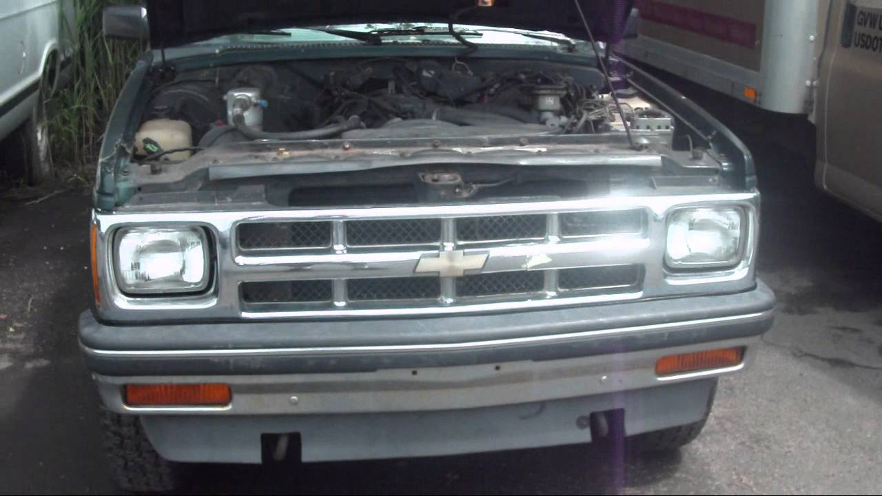 1981 Chevy 30 wrecker and 1994 Chevy S10 Blazer Tahoe ...