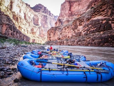 Grand Canyon Rafting #2 - Documentary of Major Rapids (Horn Creek, Lava, Crystal)