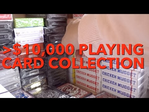 More than $10,000 Playing Card Collection