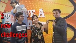 2 New challenges video  #challenges / Dart & cricket challenge - Nehas kitchen villa