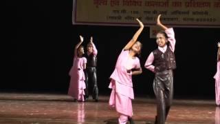 'itni si hansi'   dance  choreography by Dr.Pooja Varma , Anahat 2015