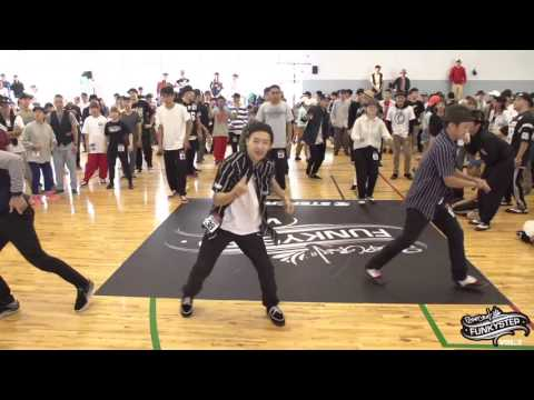 Locking Open Side Audition l FUNKY STEP vol 5