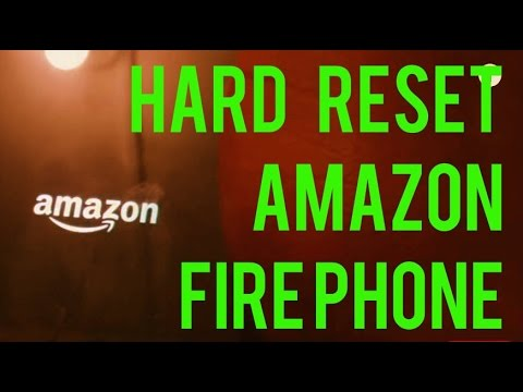 How to Hard Reset Amazon Fire Phone - 32GB - 4G LTE
