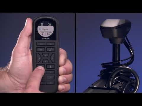 Garmin Marine - Moteur électrique Force: utilisation de la télécommande