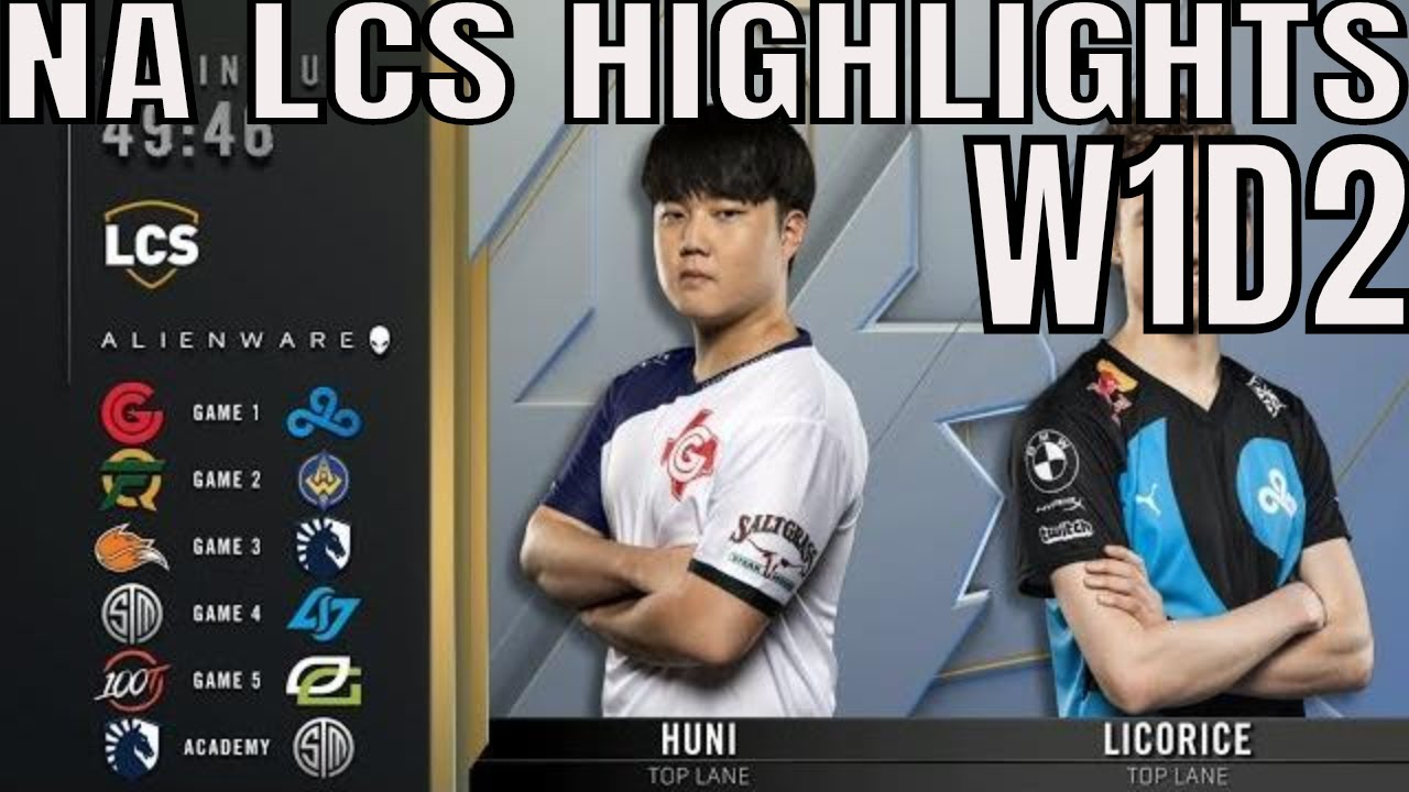 LCS Highlights ALL GAMES Week 1 Day 2 Summer 2019 Leaguee of Legends NALCS