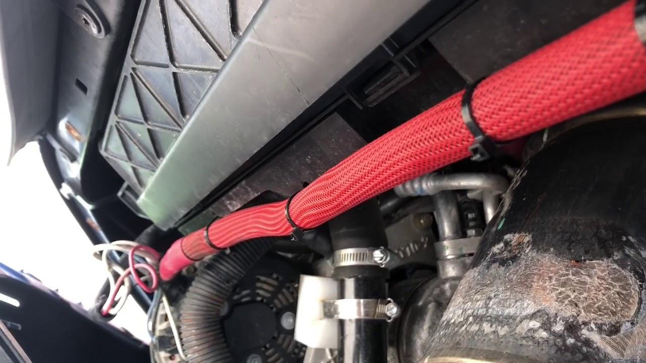 Roadtrek/Carado Underhood generator recall inspection