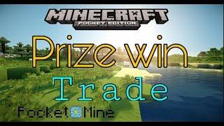 [Pocketmine] plugin trade và prize win