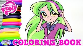 My Little Pony Coloring Book Lemon Zest MLP MLPEG Episode Surprise Egg and Toy Collector SETC