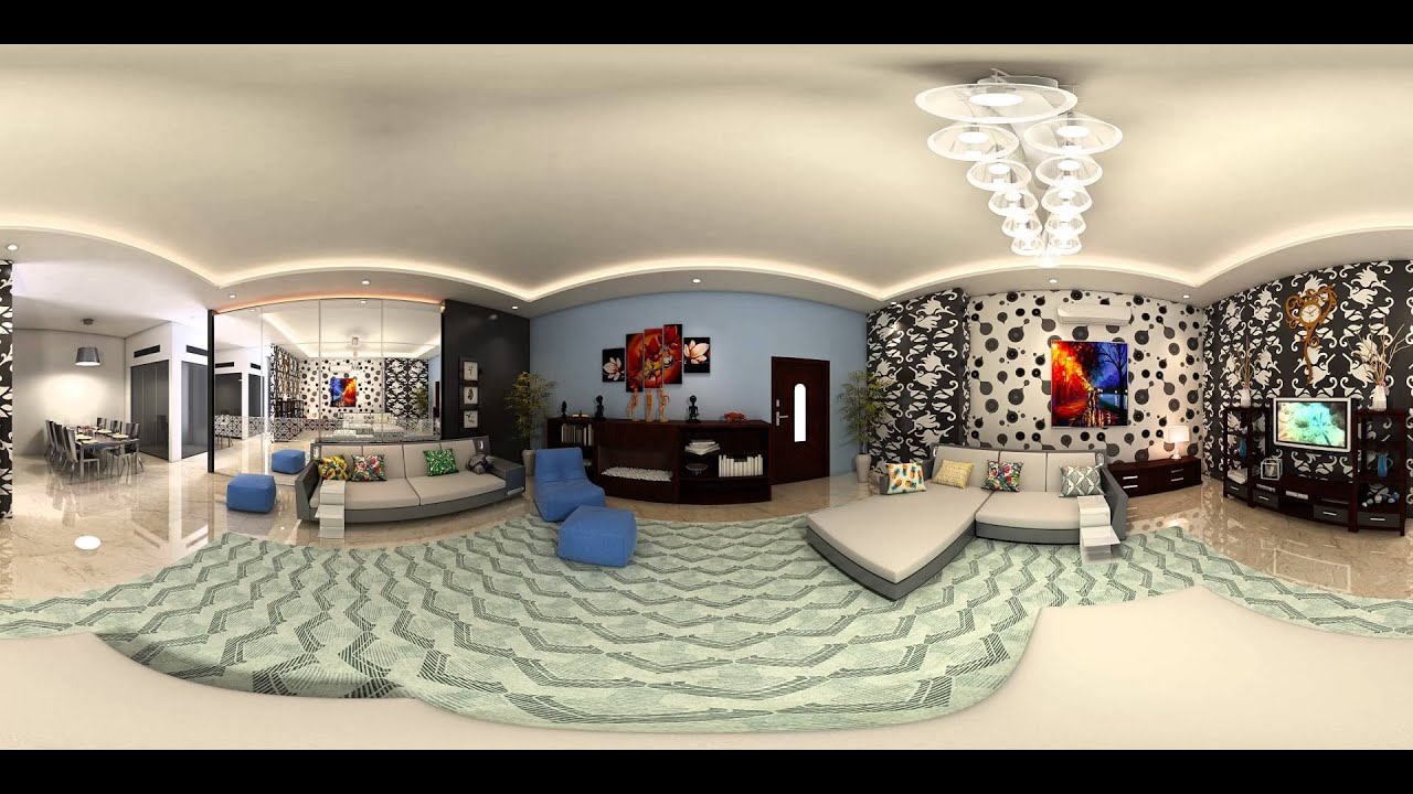 360 degree Interior Room Virtual Reality 3D - www.kemsstudio.com