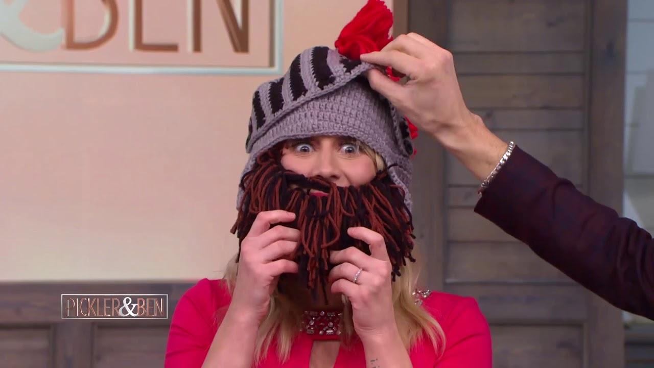 45cd72f5505 Kellie   Ben Try Beard Head! - Pickler   Ben - YouTube