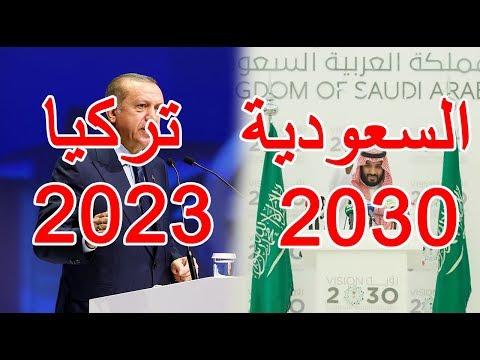 أقوى رؤى استراتيجية مستقبلية   رؤية السعودية 2030.......