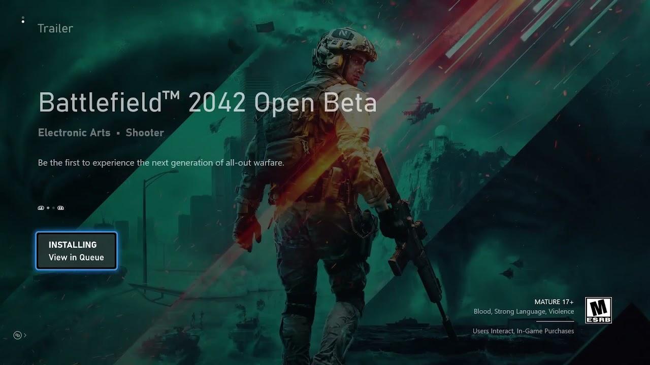 Battlefield 2042 beta preloads are now live on all platforms