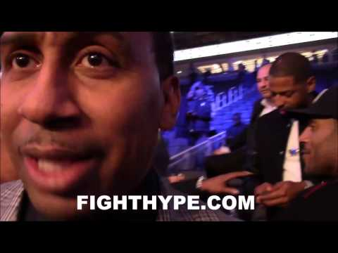 STEPHEN A. SMITH IMMEDIATE REACTION TO ANDRE WARD'S WIN OVER SERGEY KOVALEV; HAD KOVALEV WINNING