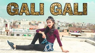 KGF Gali Gali Song Dance Video Neha Kakkar Mouni Roy Muskan Kalra Choreography