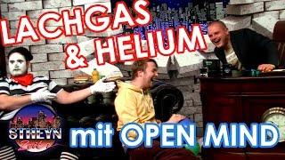 LACHGAS und HELIUM Selbstversuch mit OPEN MIND & Koenichstheyn | StheynZeit