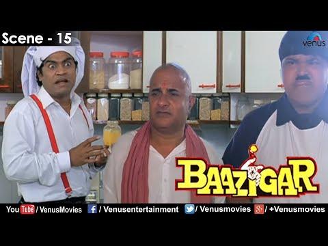 Видео, Johnny Lever making tea Baazigar