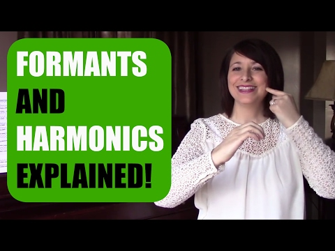 What are FORMANTS and HARMONICS? VOCAL FORMANTS AND HARMONICS Explained!