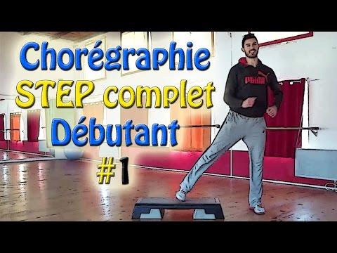 Chorégraphie STEP débutant #1 - Cours de STEP complet français - Apprendre le step thumbnail