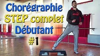 Chorégraphie STEP débutant #1 - Cours de STEP complet français - Apprendre le step