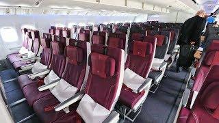 QATAR 777-300ER Economy Class Review | Mumbai - Doha - Beirut | Economy Week