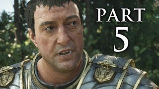 Ryse Son of Rome Gameplay Walkthrough Part 5 - Barbarian Leader Boss (XBOX ONE)