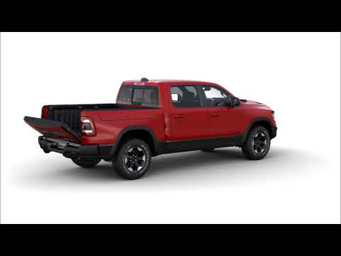 2020 RAM 1500 Multifunction Tailgate With Ram Box | Rebel