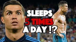 The Fascinating Reason Ronaldo Sleeps 5 Times a Day - Polyphasic Sleep Explained