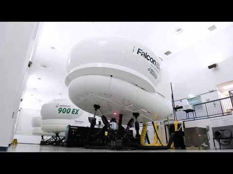 Falcon 8X Simulator Installation | FlightSafety International