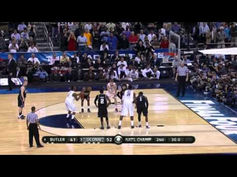 UConn vs. Butler - 2011 NCAA Tournament - National Championship Game