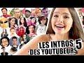 watch he video of J'IMITE LES INTROS DES YOUTUBEURS