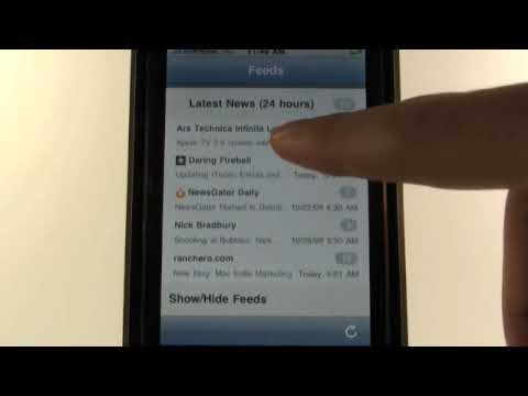 iPhone apps - NetNewsWire
