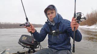 СПИННИНГ или КАСТИНГ на Реке Что лучше Рыбалка в Феврале