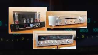 Amps: vintage 1975 vs modern tube and solid state