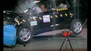Audi Q7 2007 ANCAP Crash Test (4 stars)