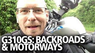 BMW G310GS update: Motorways and backroads