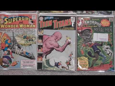 dc silver age comics cgc unboxing