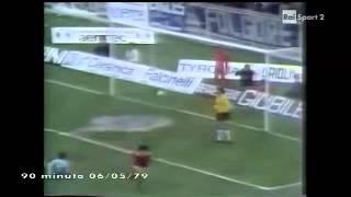 Perugia - Lazio 2-0 - Campionato 1978-79 - 29a giornata