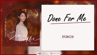 Punch - Done For Me (OST Hotel Del Luna Part 12) Easy Lyrics + Indo Sub by GOMAWO