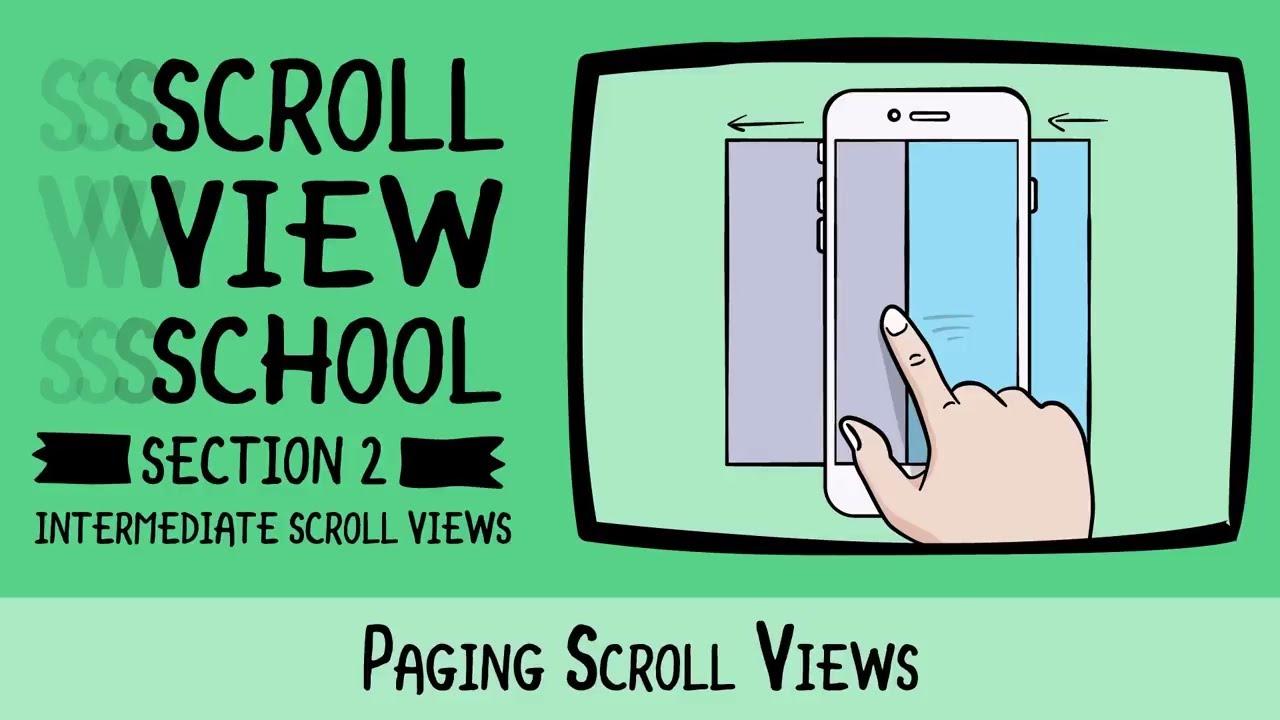 Paging Scroll Views - Scroll View School - raywenderlich com