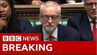 Labour leader Jeremy Corbyn: Government is failing people of Britain - BBC News