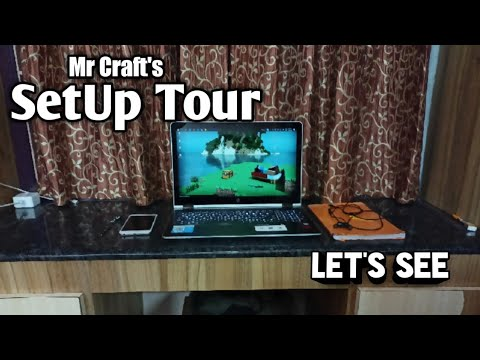Download Mr Craft's SetUp Tour | Let's see this | Mr Craft