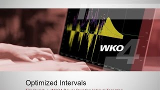 Individualizing Interval Workouts in WKO4