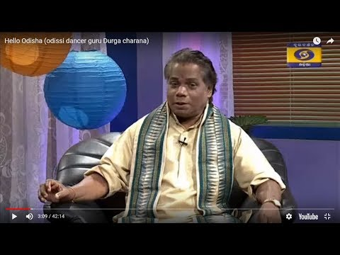 Odissi dance Guru Durga charana in Hello Odisha video