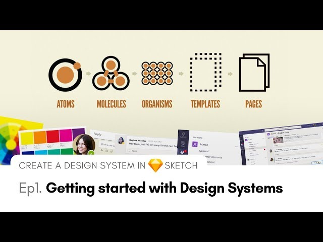 Getting Started with Design Systems | Create a Design System in Sketch, Ep1
