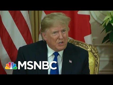 'Some Incredible Behavior' From Trump In London | Morning Joe | MSNBC