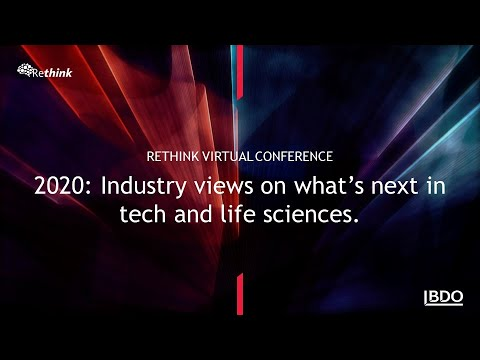 2020: Industry views on what's next in tech and life sciences | BDO Canada