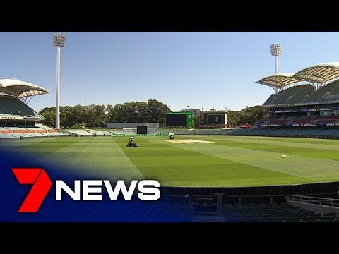 Final Touches Added To Adelaide Oval Ahead Of Second Test | Adelaide | 7NEWS