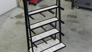 Making a stock storage rack