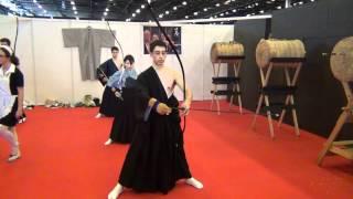 Kyudo FFKT Japan Expo 2012 HD