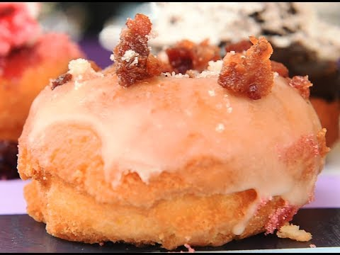 See how the Dizzy Pig donut gets made at Taste of Syracuse (video)